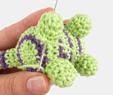 reverse single crochet stitch