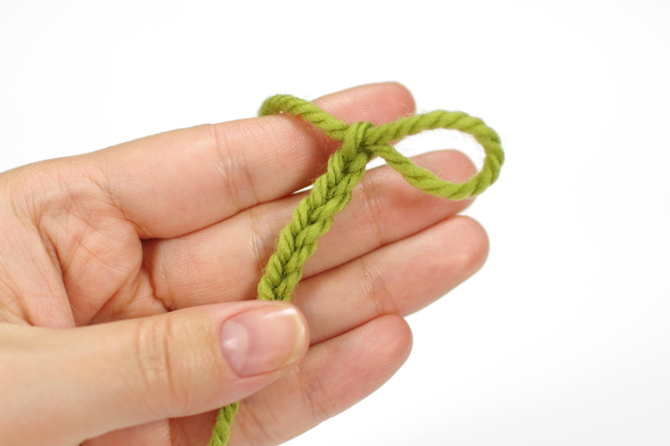 start crocheting with a chain