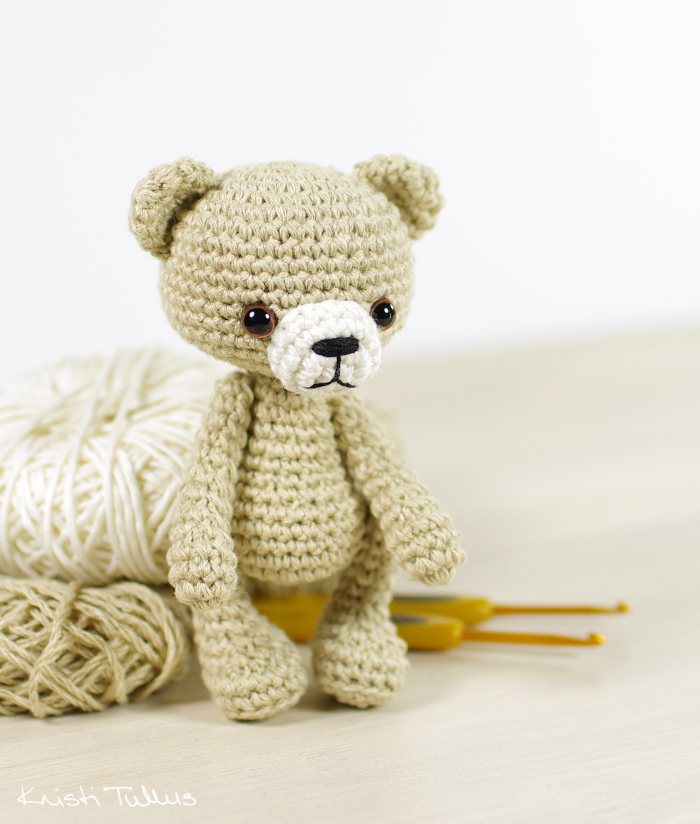 amigurumi bear pattern and tutorial