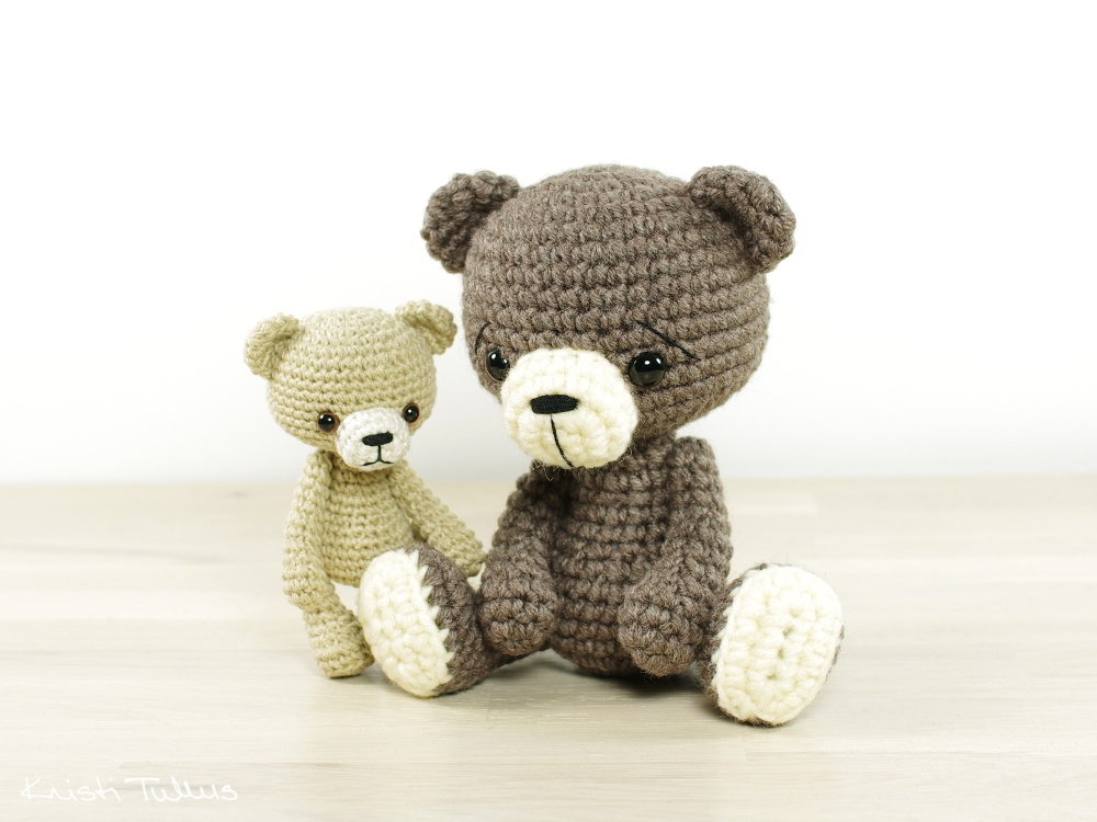 tiny amigurumi teddy bear pattern